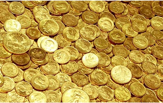 gold coin polishing