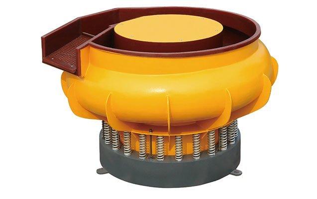 vbsa vibratory finishing machine with curved wall bowl mass finishing machine deburring and polishing