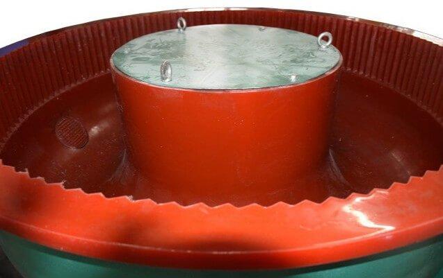 vibratory bowl metal deburring polishing tumbler machine meitu 2