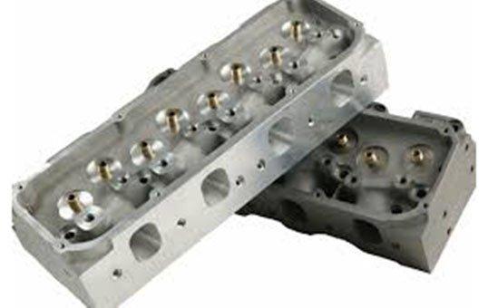 Aluminum Cast Engine Block Polishing