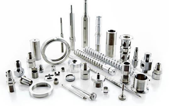 Aluminum Turned Components Polishing