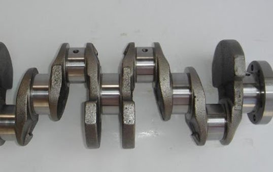 Cast Crankshaft Polishing