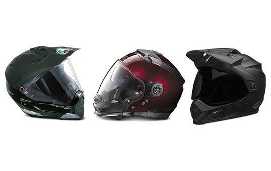 Dual Sport Helmets Polishing
