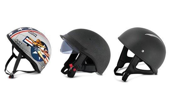 Half Shell Helmets Polishing