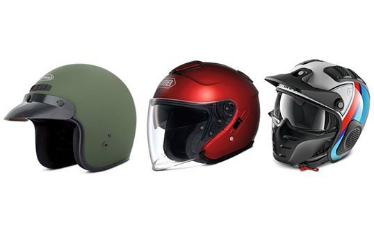 Open Face Helmets Polishing
