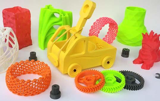 Plastic 3d printed parts deburring