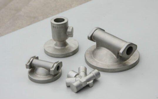aluminum investment casting parts polishing