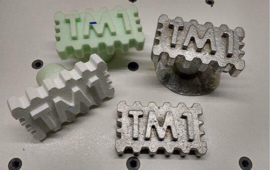 aluminum lost foam die casting parts polishing