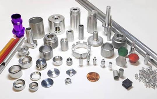 aluminum precision machined parts