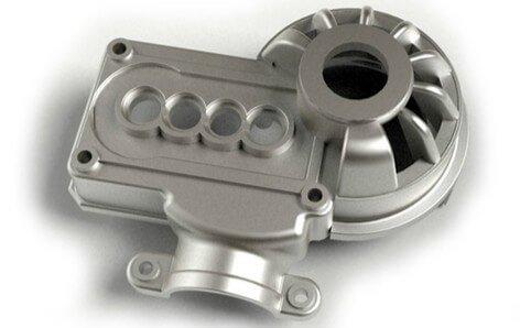 automotive aluminum die casting parts polishing