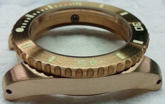 bronze watch case polishing