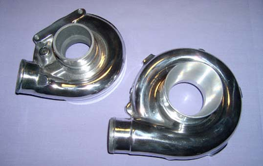 compressor turbo housing polishing