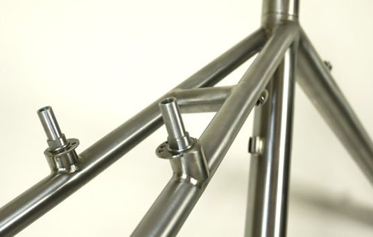 inox stainless steel bike frame polishing