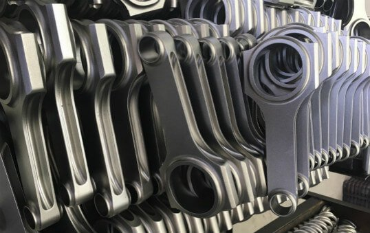 machined connecting rods