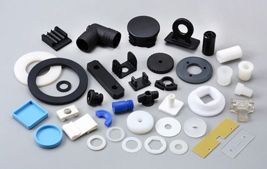 plastic ABS injection molding parts deburring