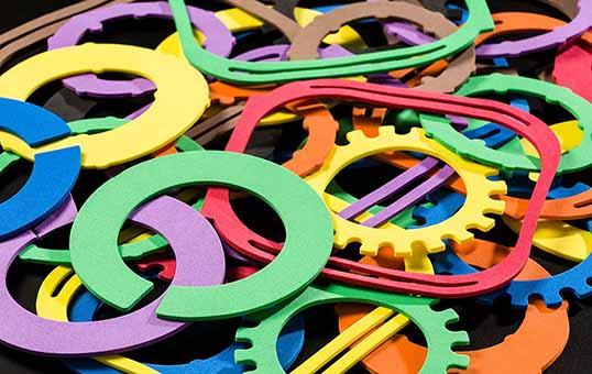plastic stamping parts deburring and deflashing