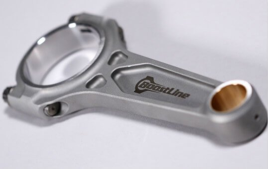 polishing connecting rods for boosted engines