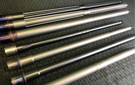 rifle barrels polishing