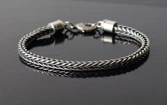 silver bracelet polishing