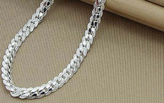 silver chain polishing