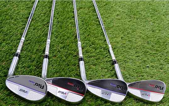 stainless steel golf club polishing