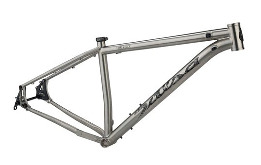 titanium bike frame polishing