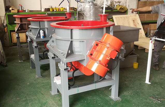 wheel vibratory finishing machine
