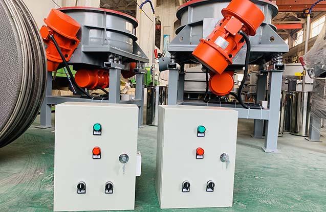 wheel vibratory polisher control box