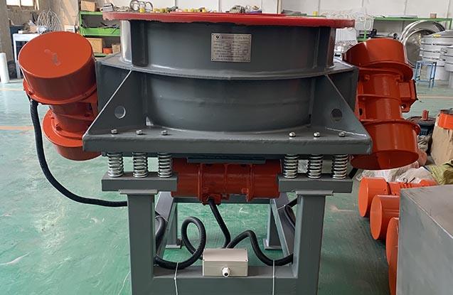 wheel vibratory polisher