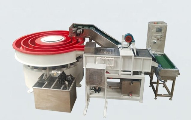 Rotomatic vibratory finishing machine 1