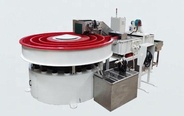 Rotomatic vibratory finishing machine 5