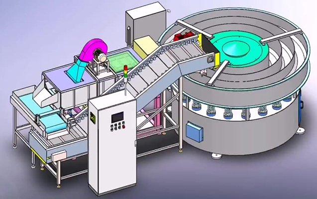 Rotomatic vibratory finishing machine 6